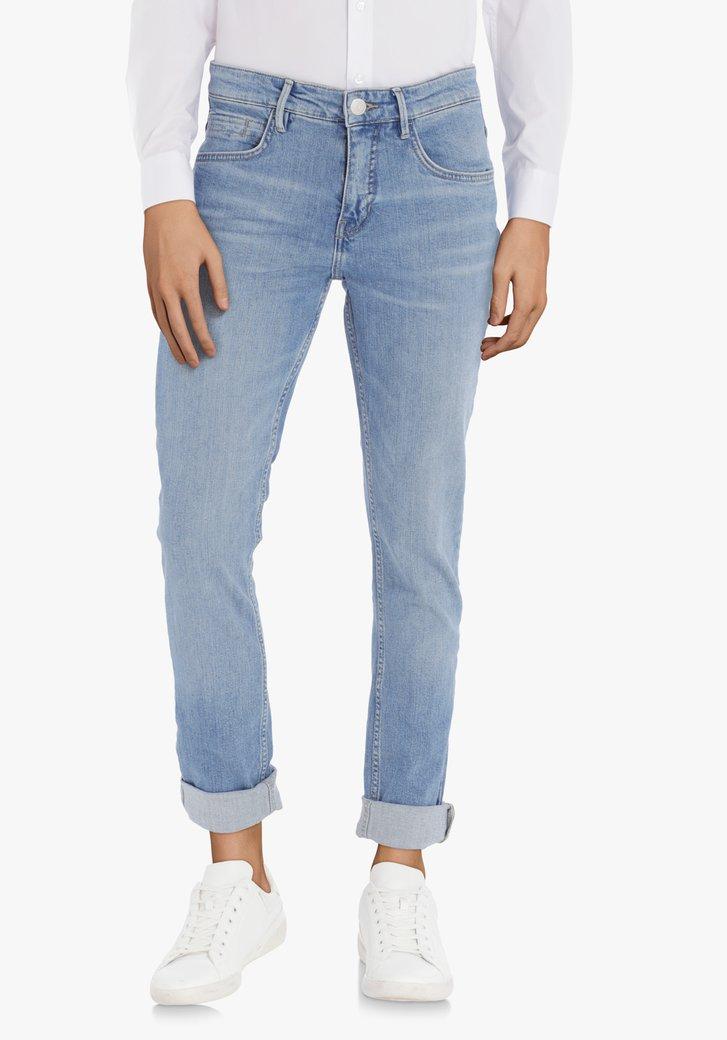 Afbeelding van Mediumblauwe jeans met stretch – slim fit