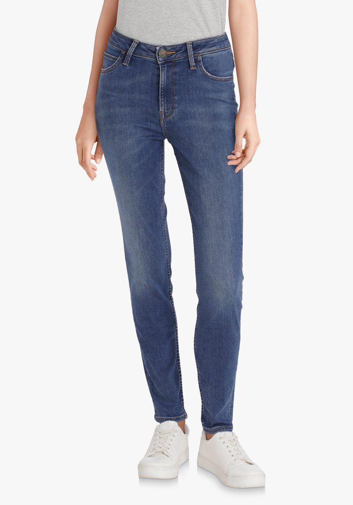 Mediumblauwe jeans - Scarlett High - skinny - L31