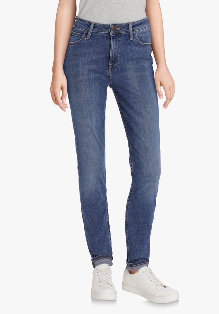 Mediumblauwe jeans - Scarlett High - skinny  - L33
