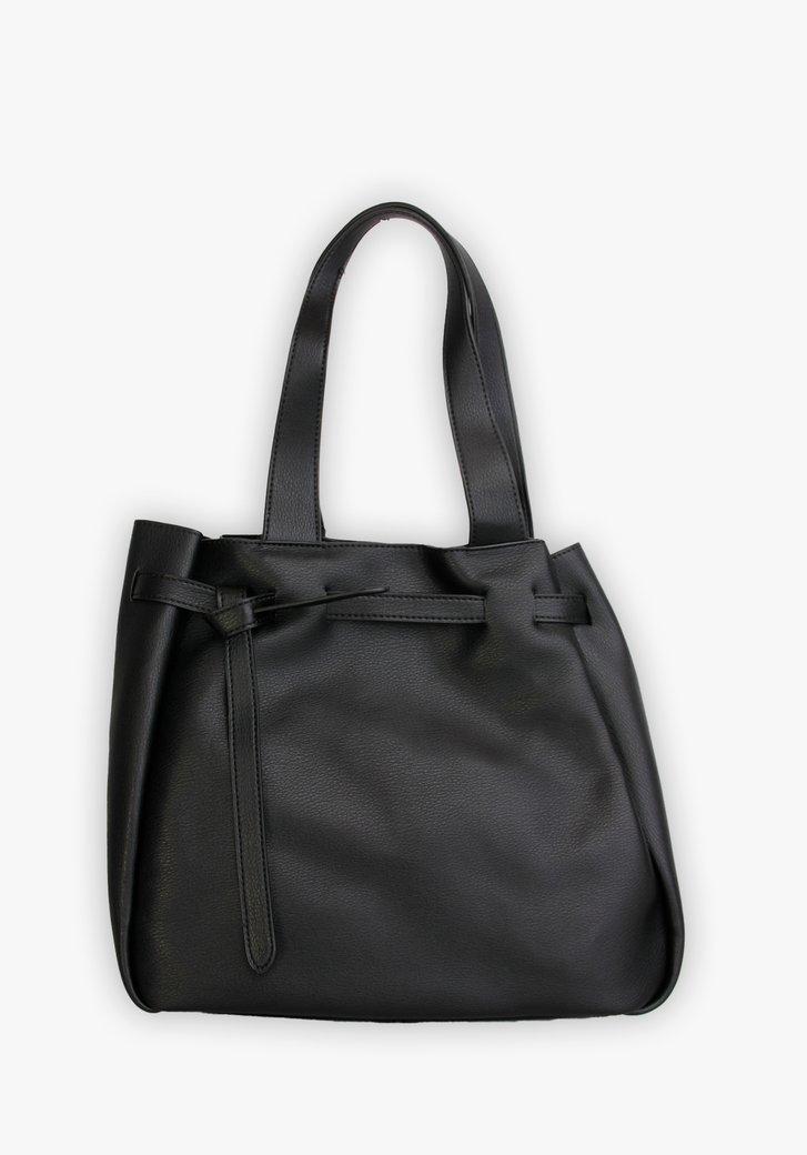 Middelgrote zwarte handtas
