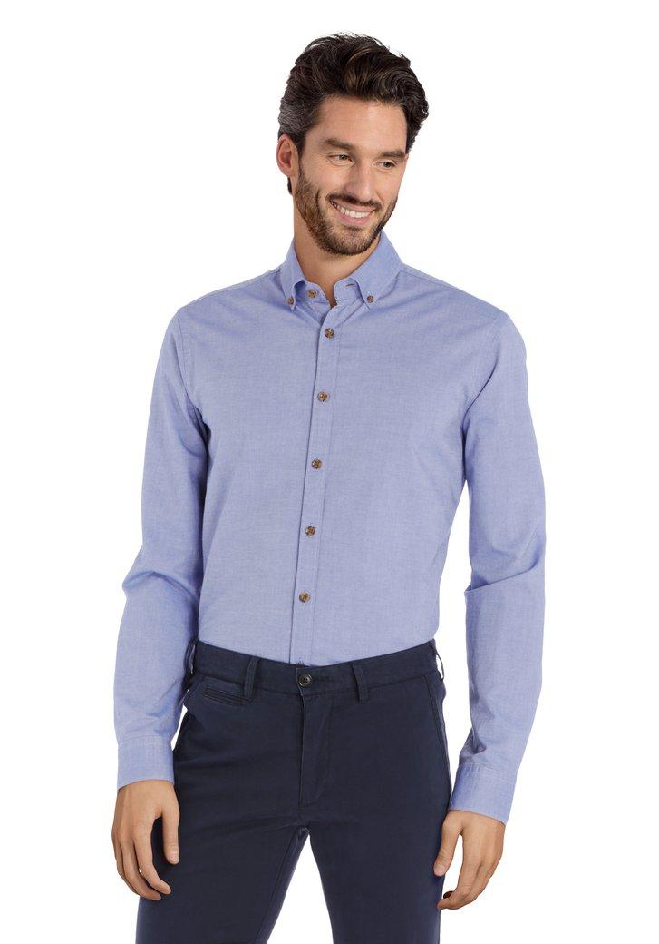 Afbeelding van Middenblauw hemd - slim fit
