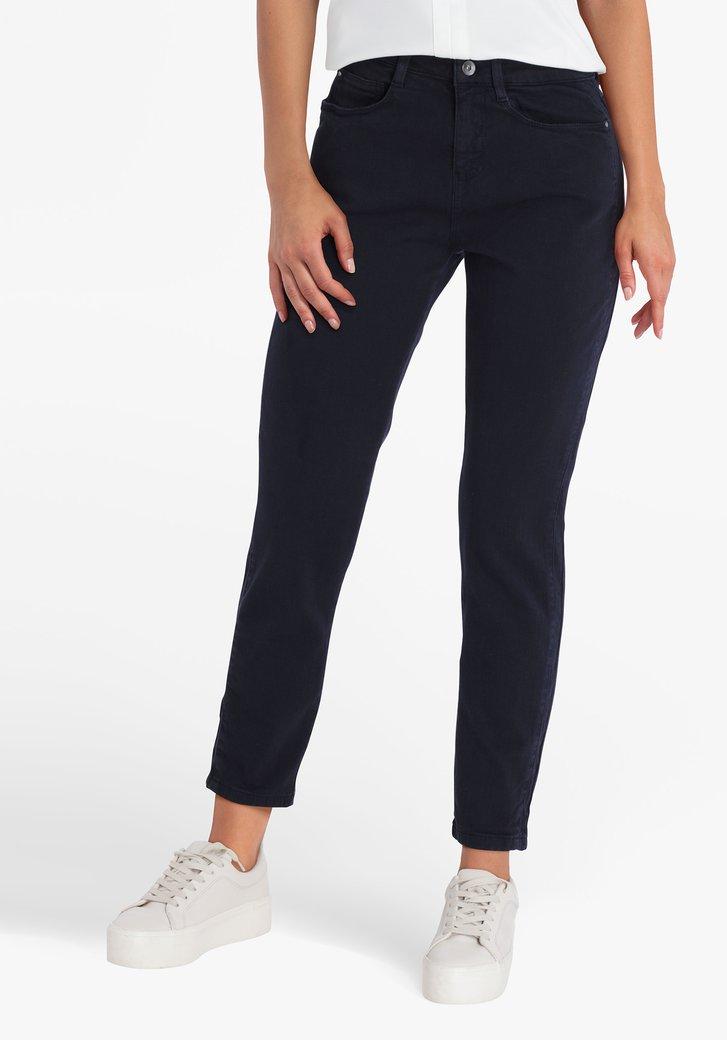 Navy broek 7/8 lengte - slim fit