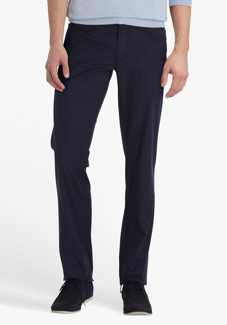 Navy broek - Jackson - regular fit