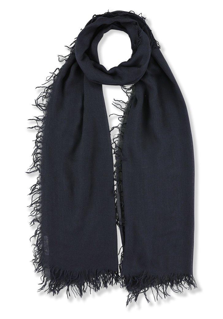 Navy foulard