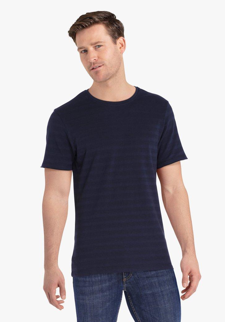 Navy gestreepte T-shirt