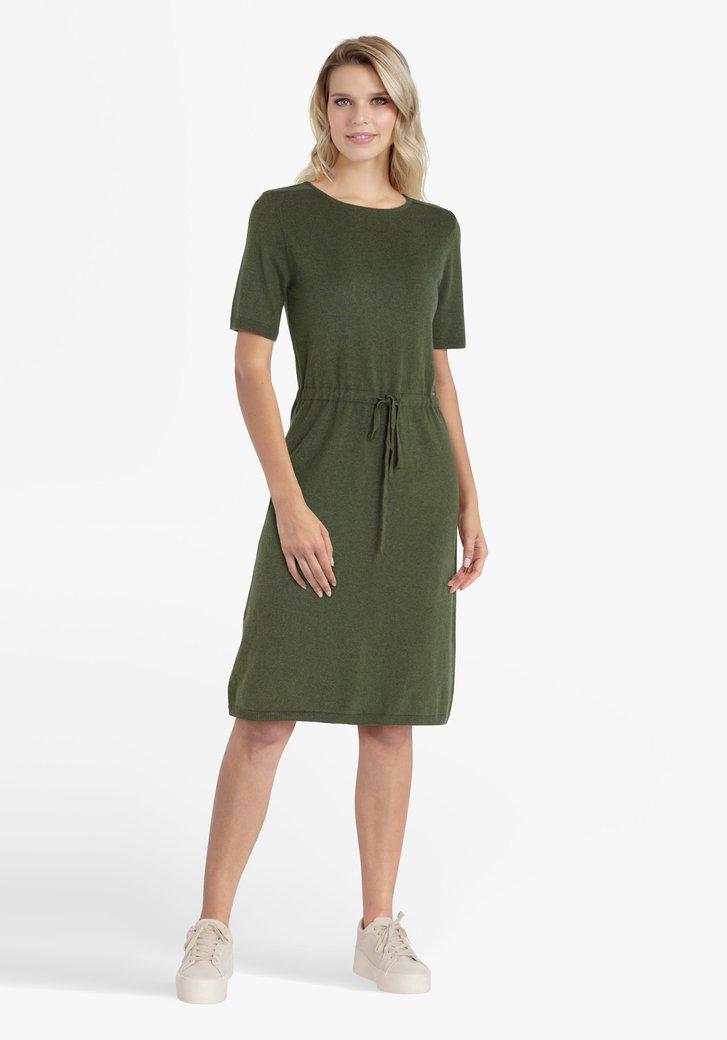 Olijfgroen kleed