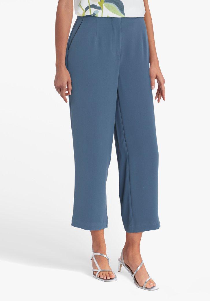 Pantalon 7/8 bleu-vert
