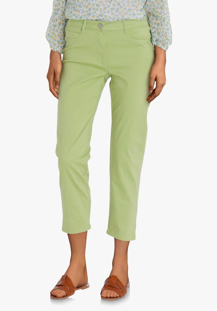 Pantalon 7/8 vert