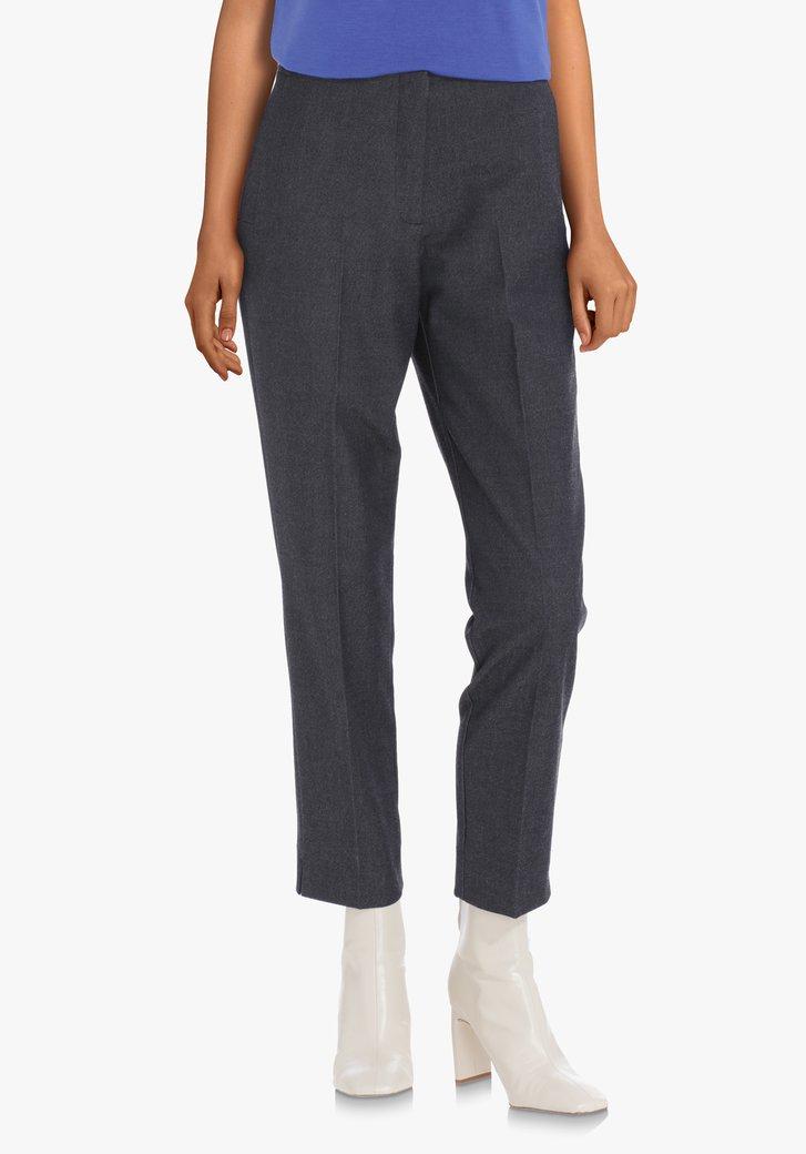 Pantalon anthracite moucheté – slim fit