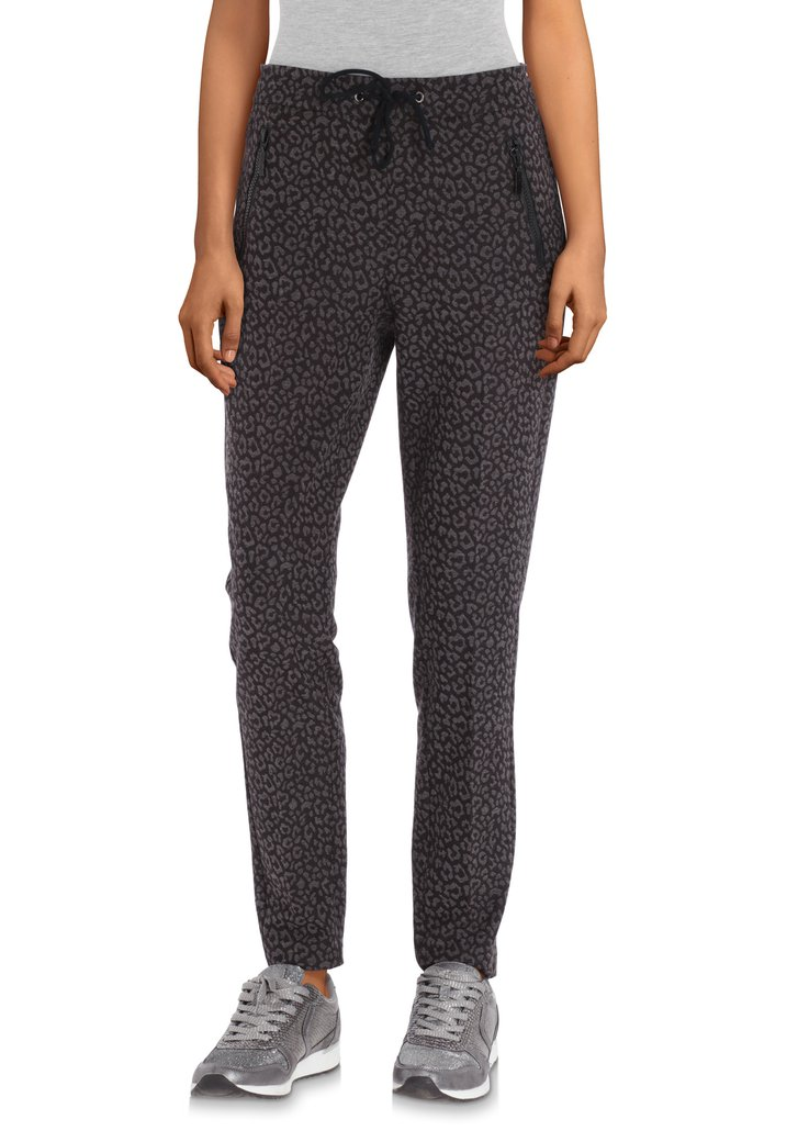 Pantalon anthracite - slim fit