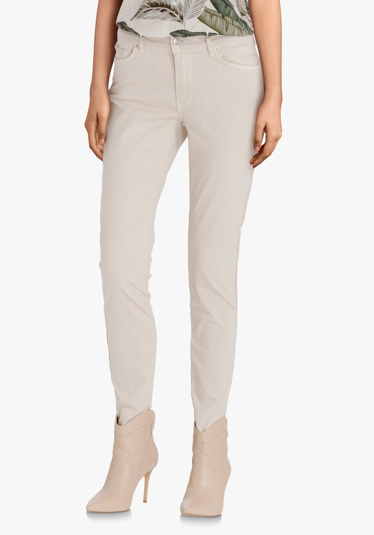 Pantalon beige clair - slim fit