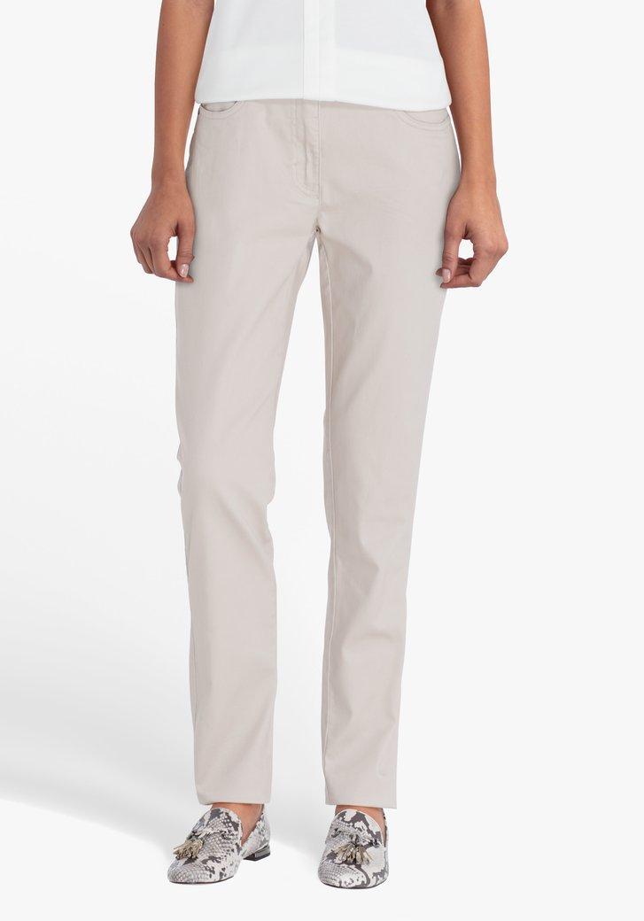 Pantalon beige - L32 - straight fit