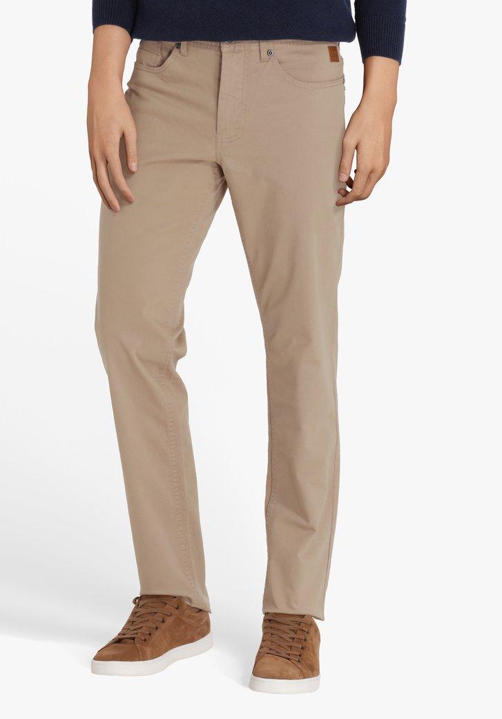 Pantalon beige - regular fit