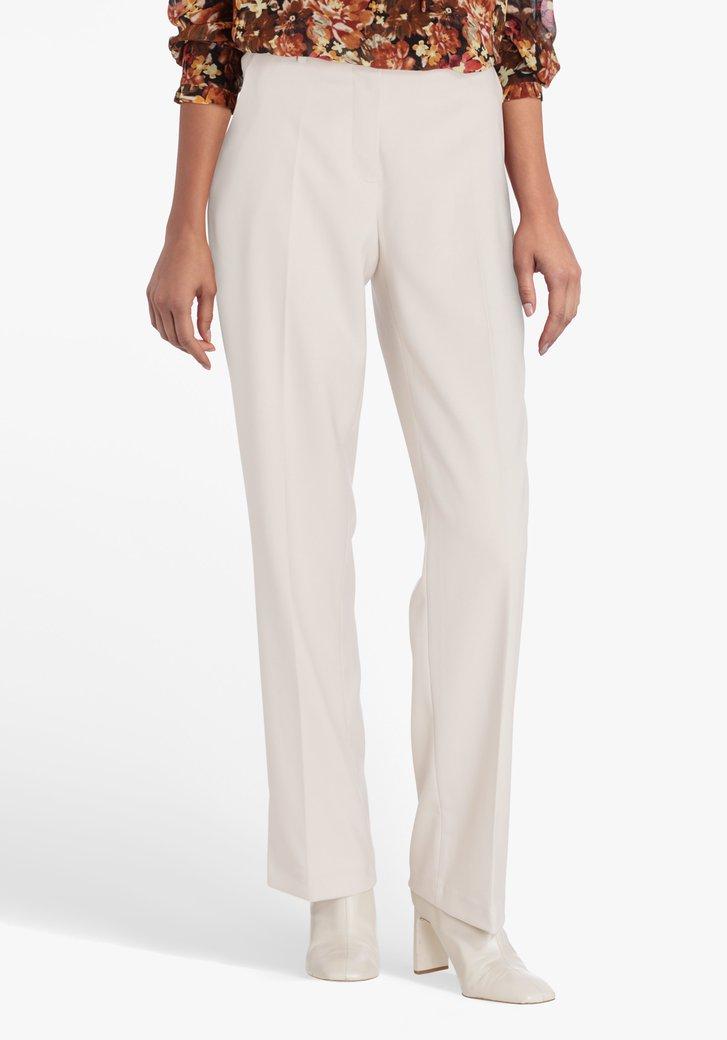 Pantalon beige - straight fit