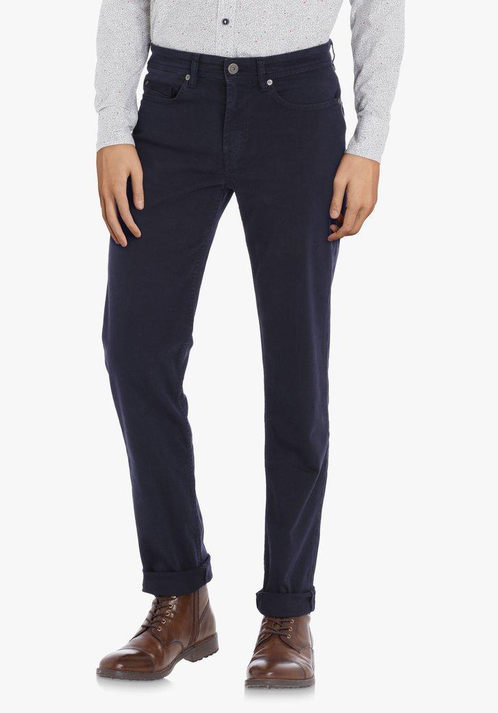 Pantalon bleu marine – slim fit