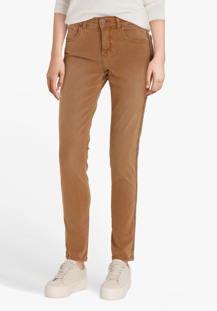 Pantalon brun clair - skinny fit