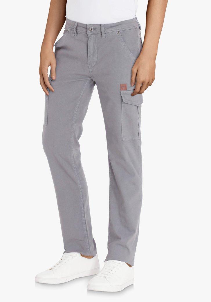 Pantalon cargo gris foncé