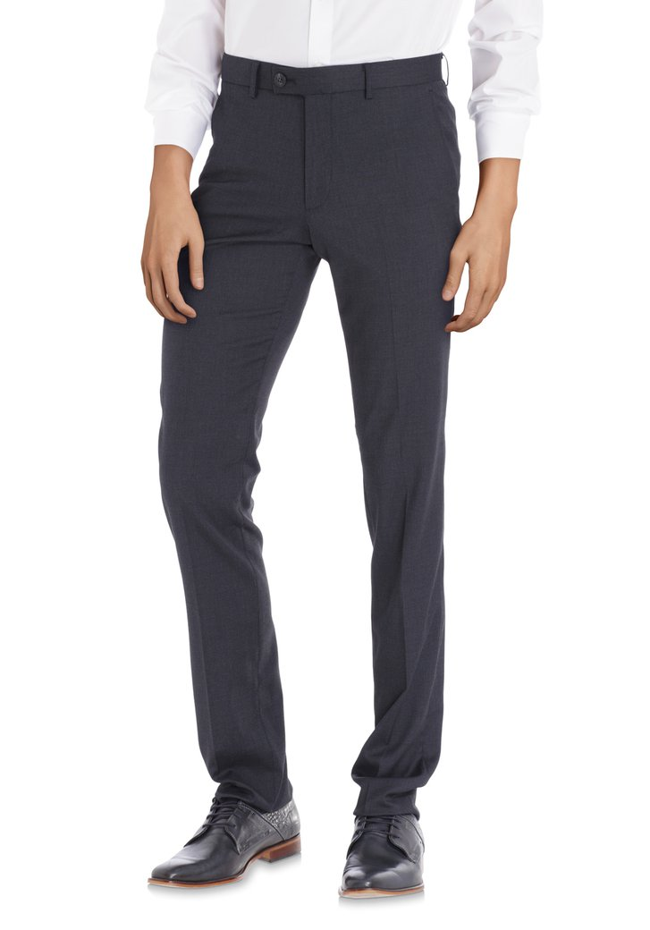 Pantalon costume bleu foncé - Iowa - slim fit