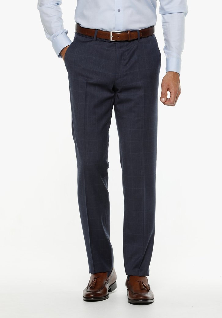 Pantalon costume bleu foncé - Ramin - regular fit