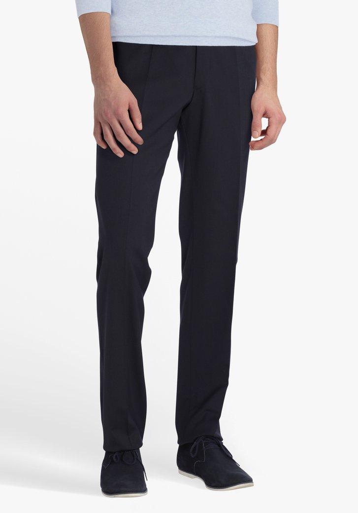 Pantalon costume bleu marine - regular fit