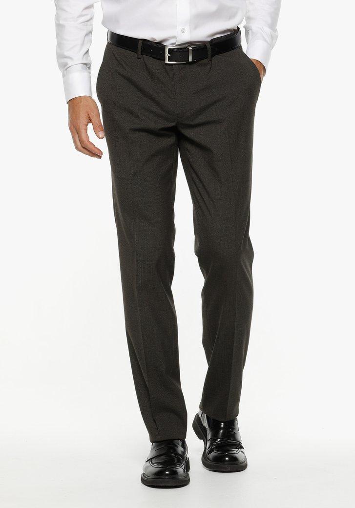Pantalon costume marron - Randy - regular fit