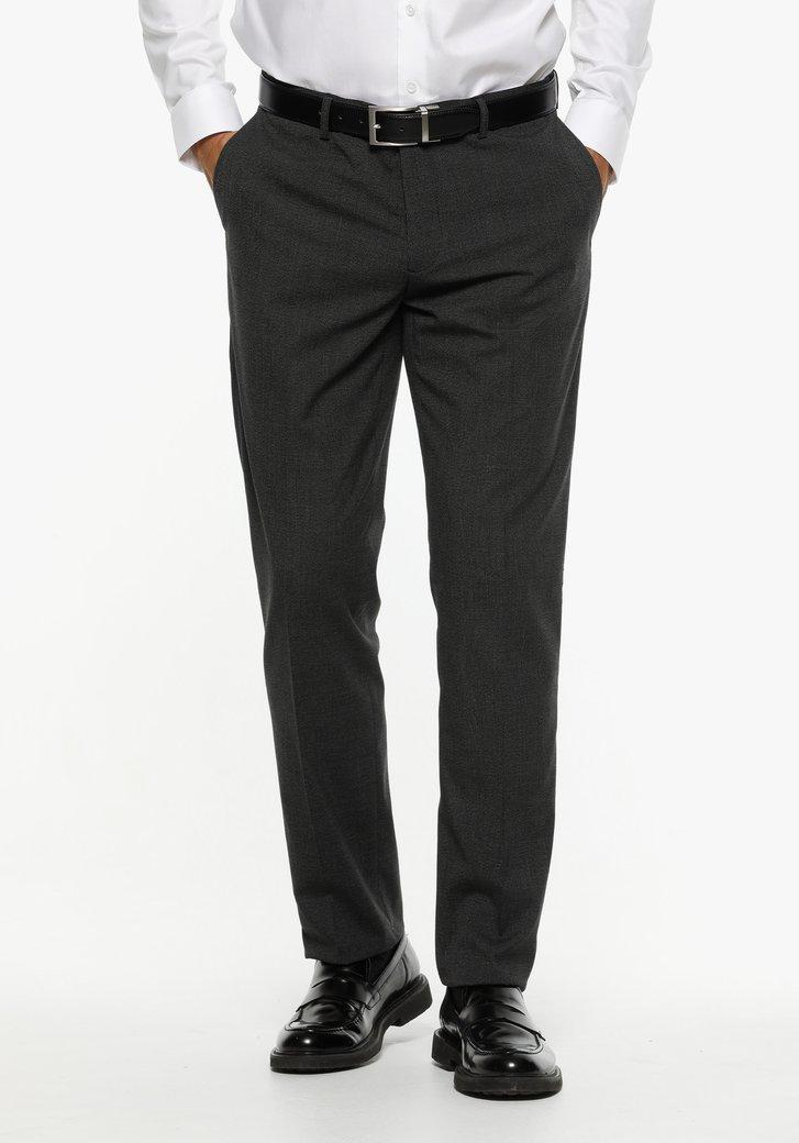 Pantalon de costume anthracite - regular fit