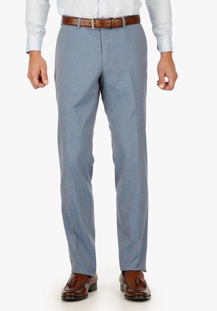 Pantalon de costume bleu clair - regular fit