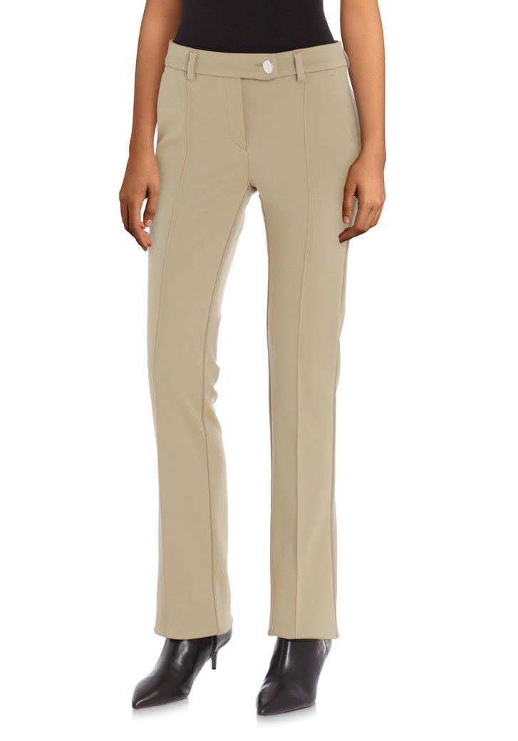 Pantalon écru – flared fit