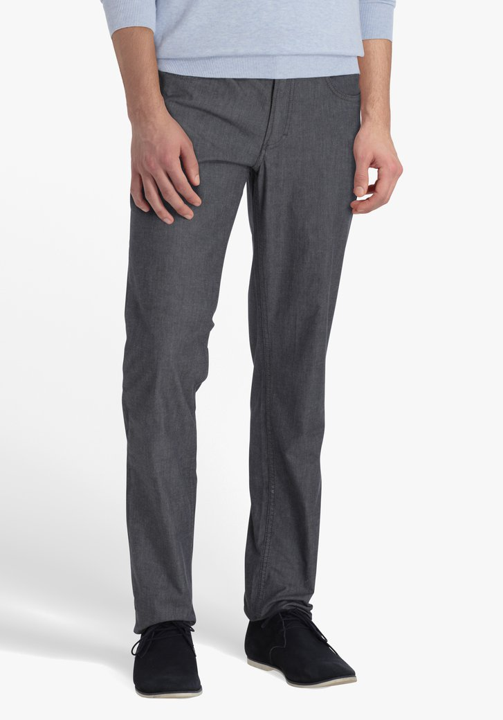 Pantalon gris - Jackson - regular fit