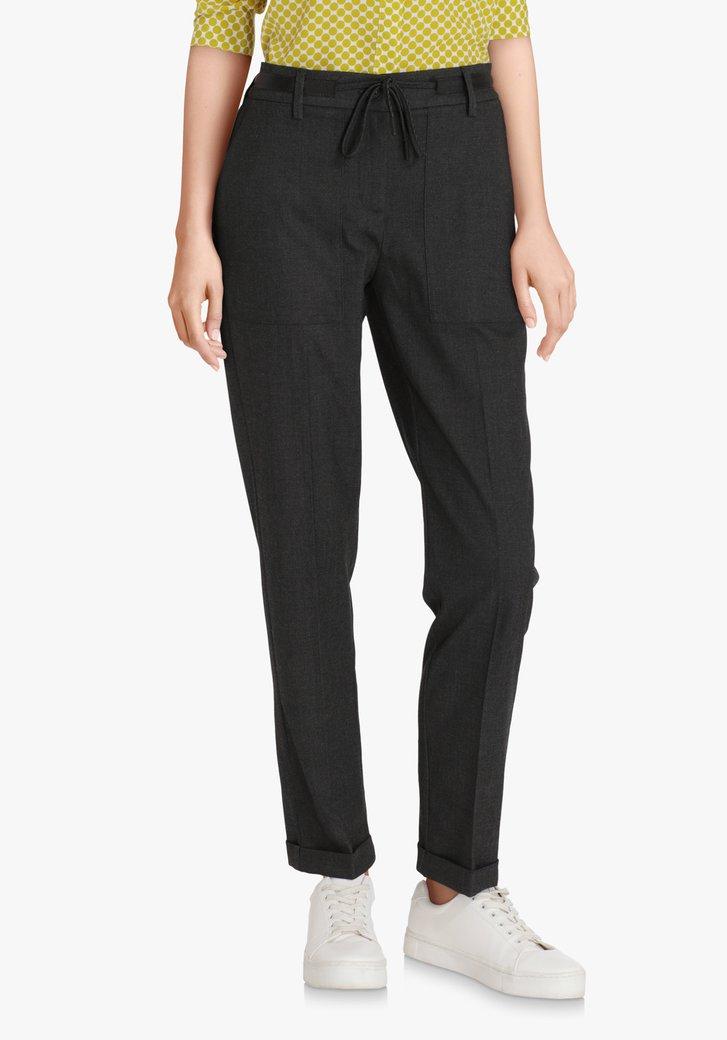 Pantalon gris moucheté – slim fit