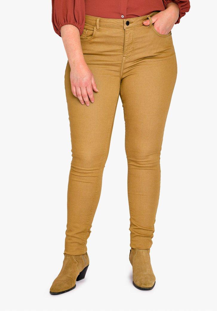 Pantalon marron - skinny fit