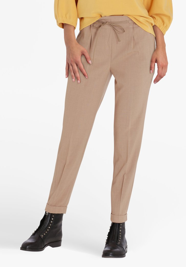 Pantalon marron - slim fit
