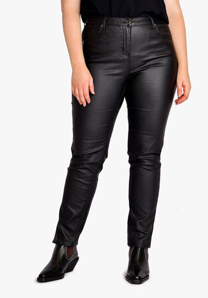 Pantalon noir - regular fit