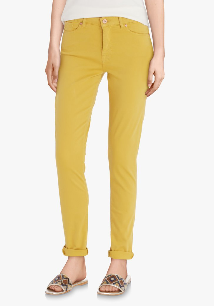 Pantalon ocre - slim fit