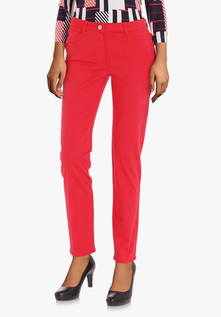 Pantalon rouge – slim fit