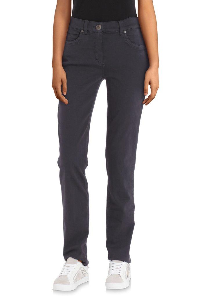 Pantalon stretch anthracite – slim fit