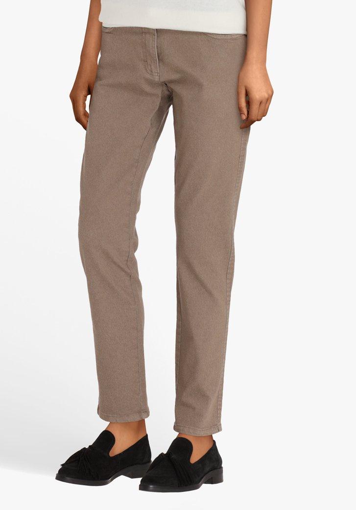 Pantalon taupe - comfort fit - L32
