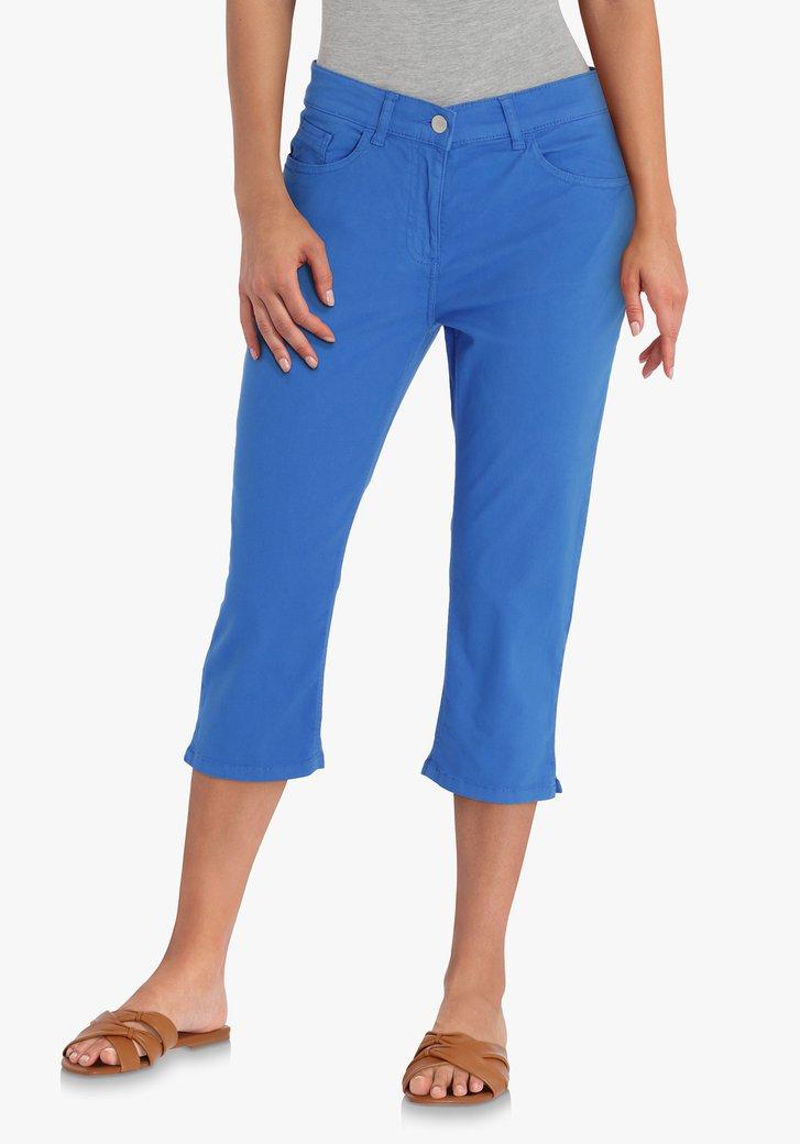 Pantalon trois quarts bleu