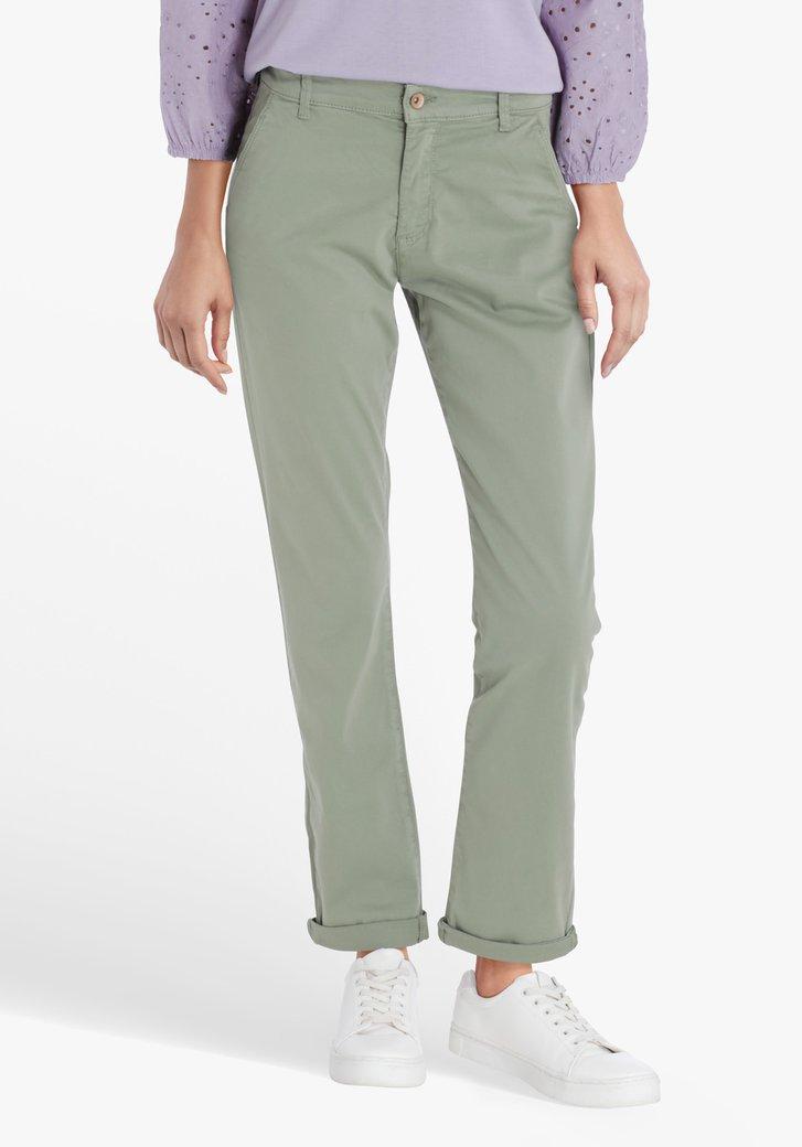Pantalon vert de mer - slim fit