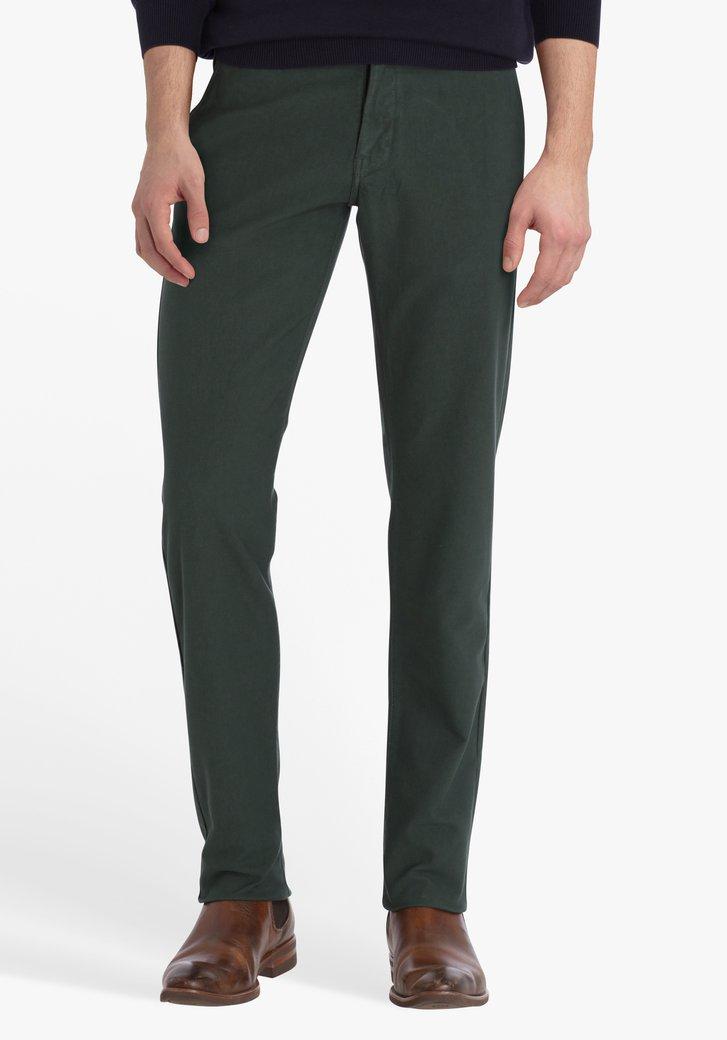 Pantalon vert foncé - regular fit