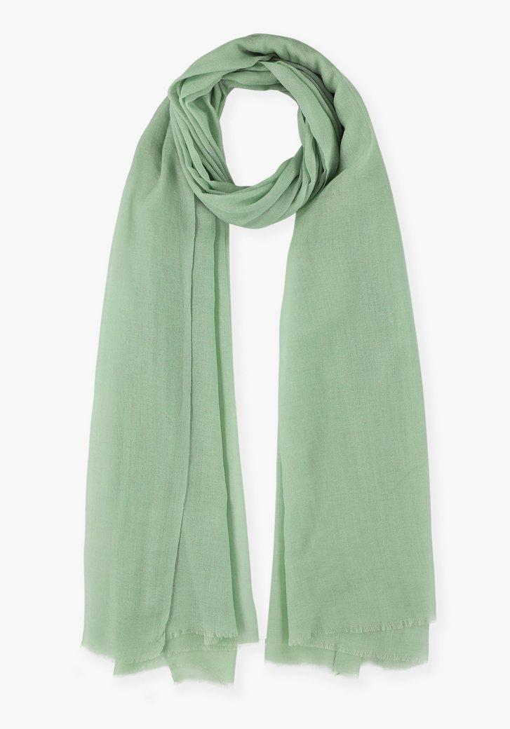 Pastelgroene sjaal