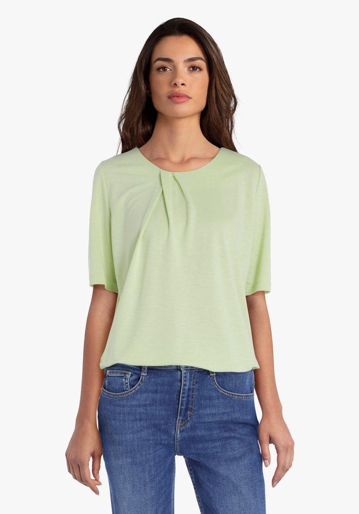 Pastelgroene T-shirt