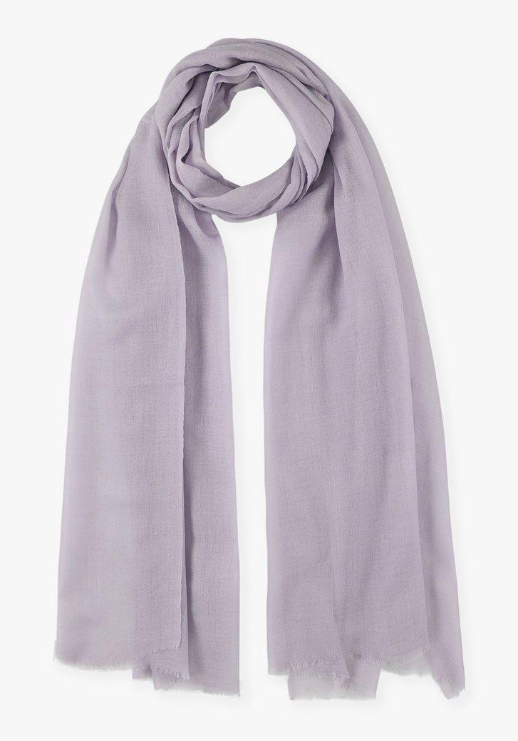 Pastelpaarse sjaal