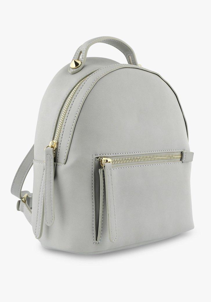Petit sac à dos gris
