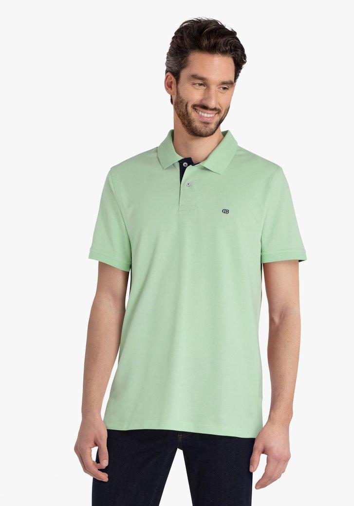 Polo vert pastel