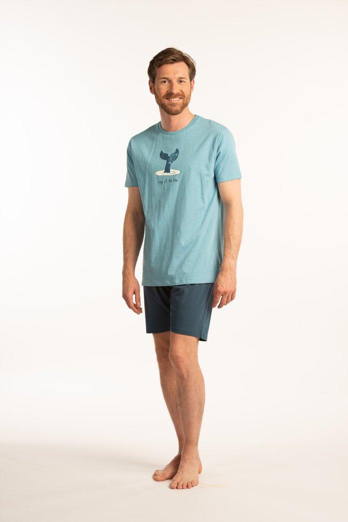 Pyjama bleu « King of the sea »