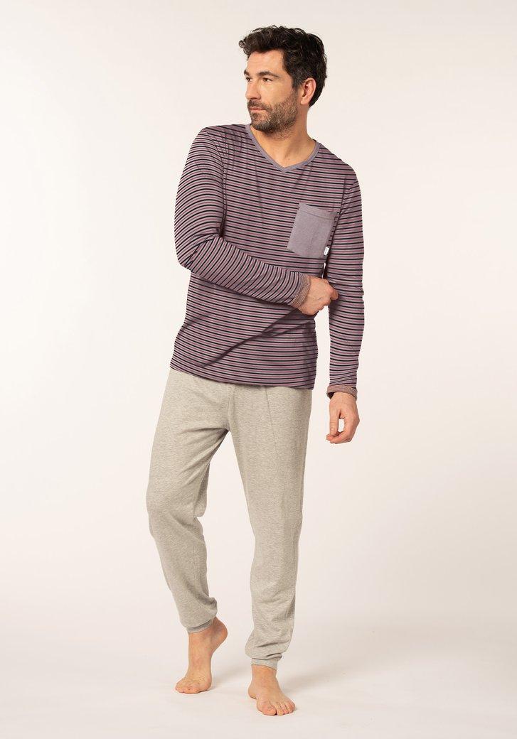 Pyjama en deux couleurs