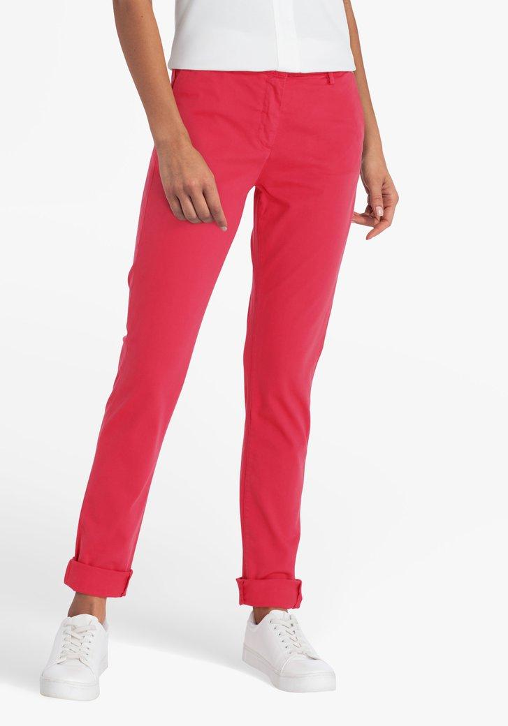 Rode broek - slim fit