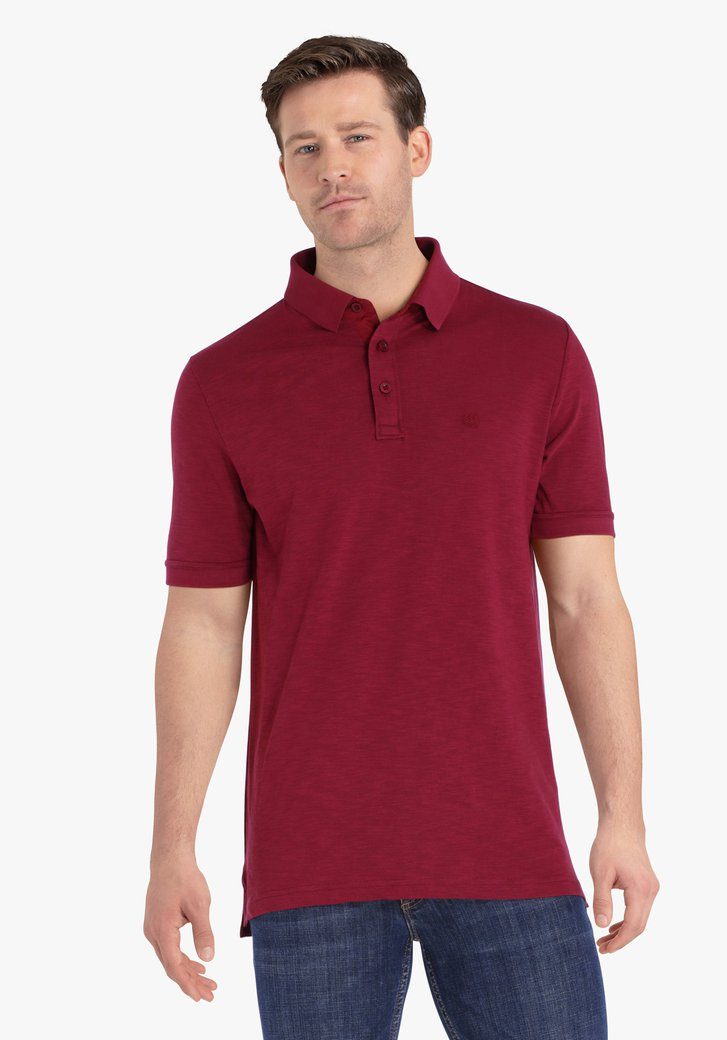 Roodpaarse polo