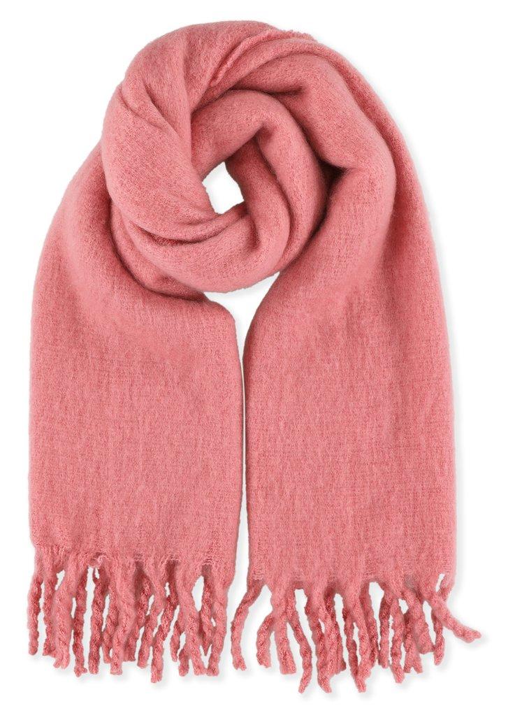Roze zachte sjaal